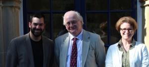 Dr Justin Stratis, Prof John Webster, Rev Dr Emma Ineson