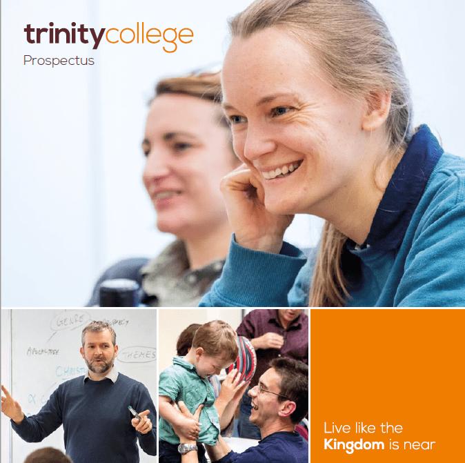Trinity College Bristol prospectus cover