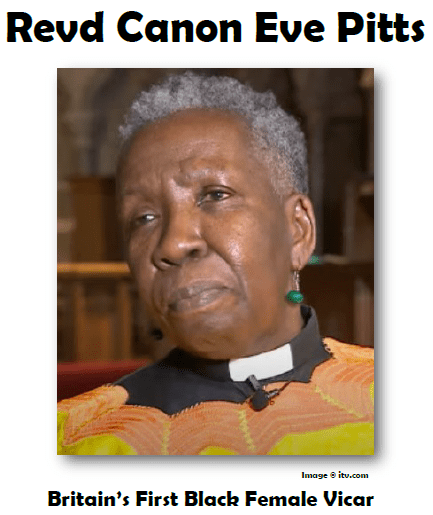 Revd Canon Eve Pitts